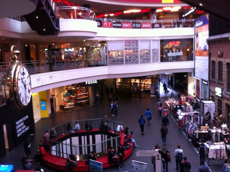 My first shopping day in Melbourne Central