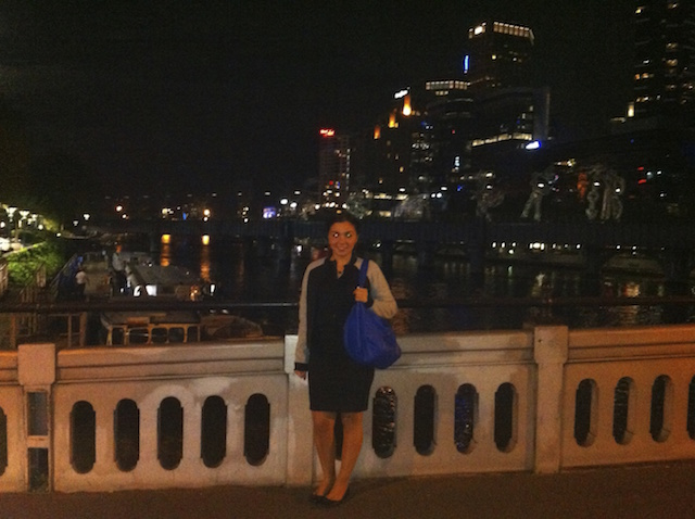 My first night out on Southbank.