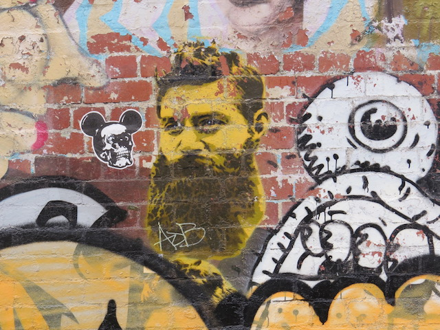 SPOTTED! Ned Kelly in Fitzroy.